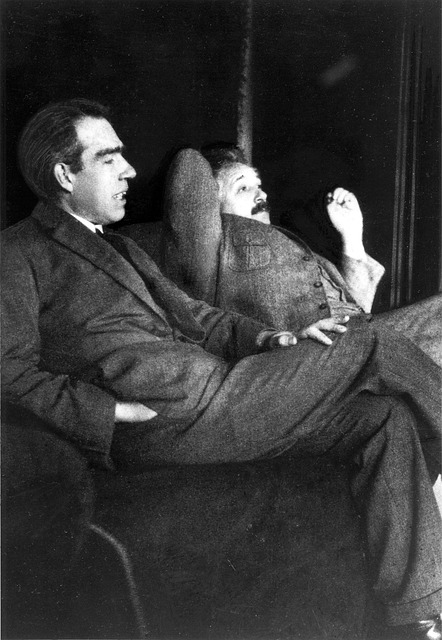 albert-einstein-and-niels-bohr-1163429_640