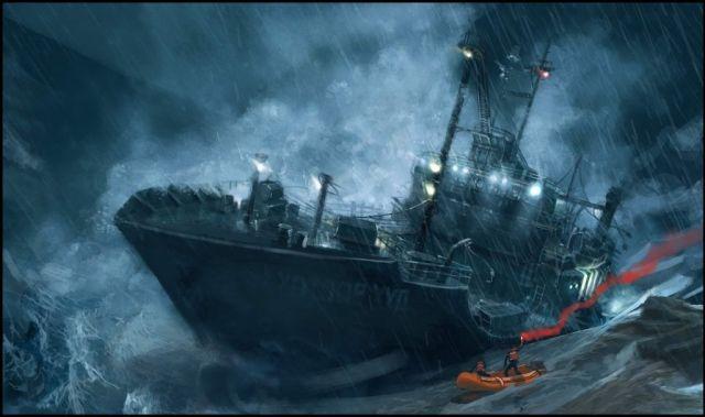 भूतिया जहाज