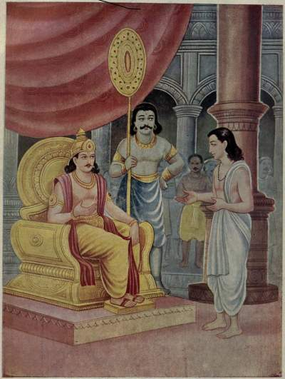 Indra_meets_King_of_Danavas_Bali_as_Brahman