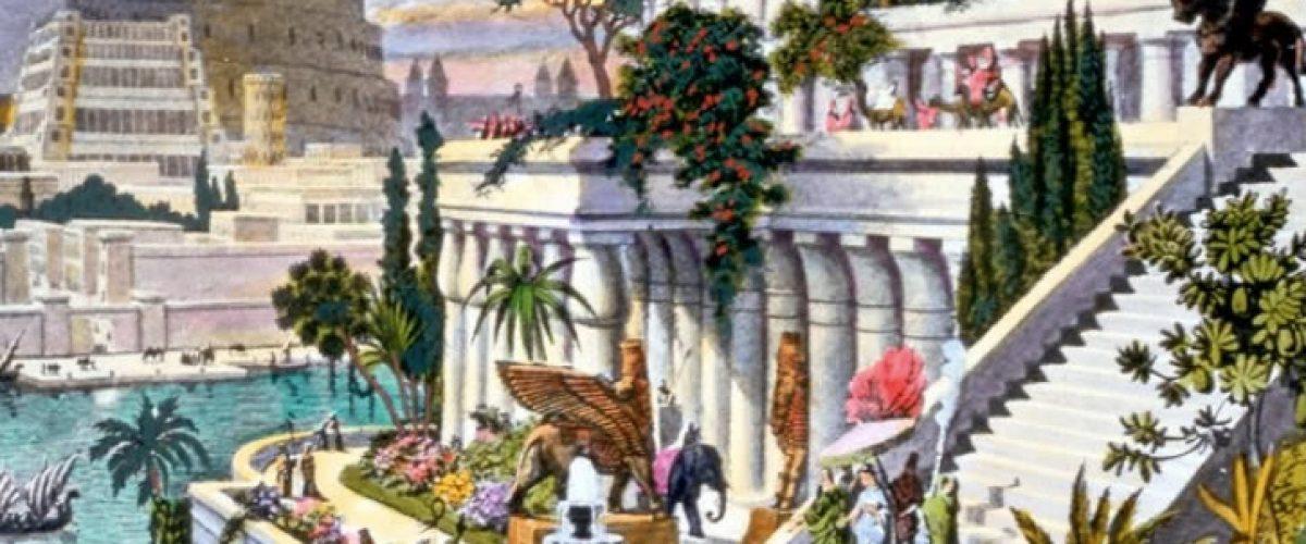 प्राचीन बेबीलोन के रहस्यमय लटकते बगीचे