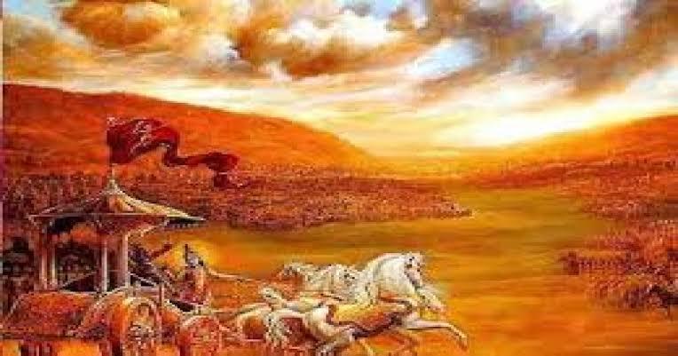 कौरव और पाण्डव की सेनाओं का भयंकर युद्ध