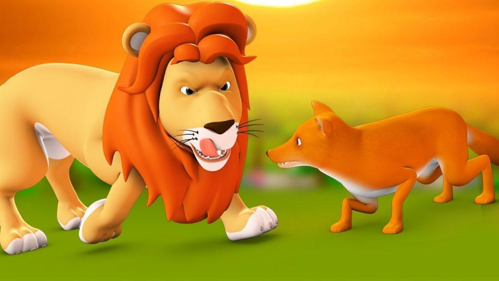 पंचतन्त्र की कहानियां-शेरनी का तीसरा पुत्र सियार का बेटा