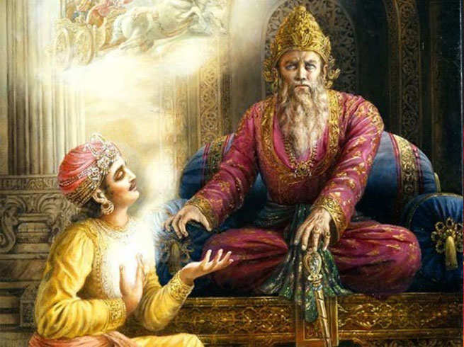 पाण्डवों के प्रति धृतराष्ट्र के मन में जहर किसने भरा, किसने उनकी बुद्धि भ्रष्ट की