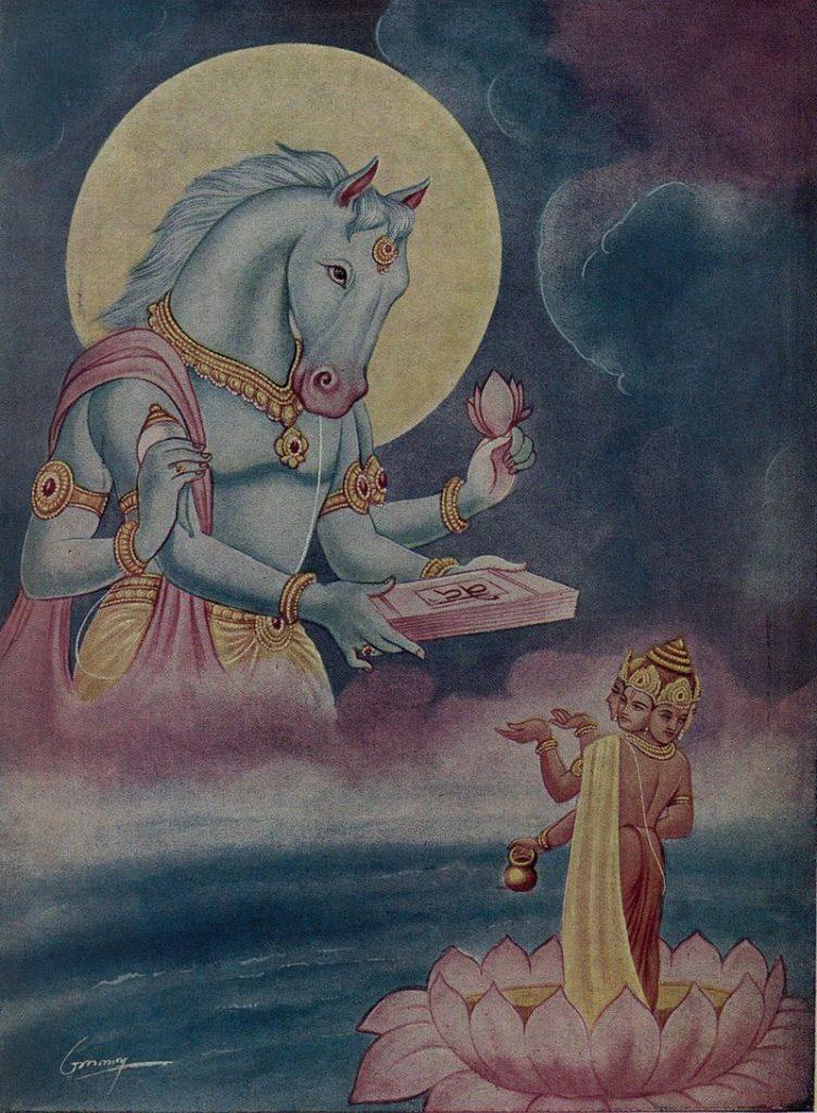 भगवान् हयग्रीव का अवतार की कथा