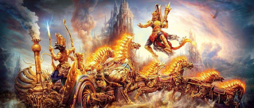 महाभारत में अर्जुन ने कौरवों की नारायणी सेना और संशप्तकों का किस प्रकार संहार किया