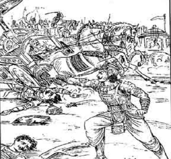 महाभारत में, अश्वत्थामा और भीमसेन के बीच हुए युद्ध में कौन विजयी हुआ