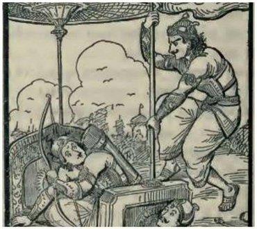 महाभारत में क्या कर्ण के पुत्रों का संहार भीमसेन ने किया था