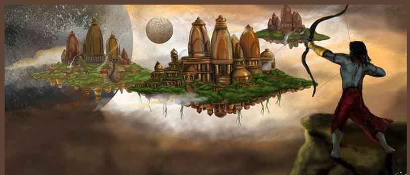 जब मयासुर दैत्य द्वारा रचित दिव्य, अद्भुत त्रिपुरों के नाश के लिए भगवान शिव ने योद्धा का रूप धारण किया