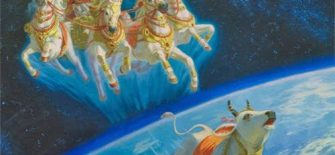 सम्राट पृथु द्वारा पृथ्वी को आतंकित करना