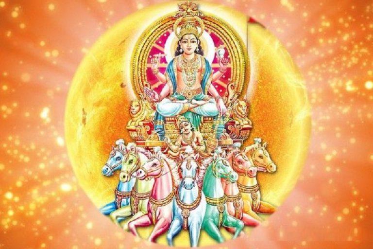 भगवान् सूर्य ही प्रत्यक्ष अवतार है, ऐसा वेदों में भी कहा गया है