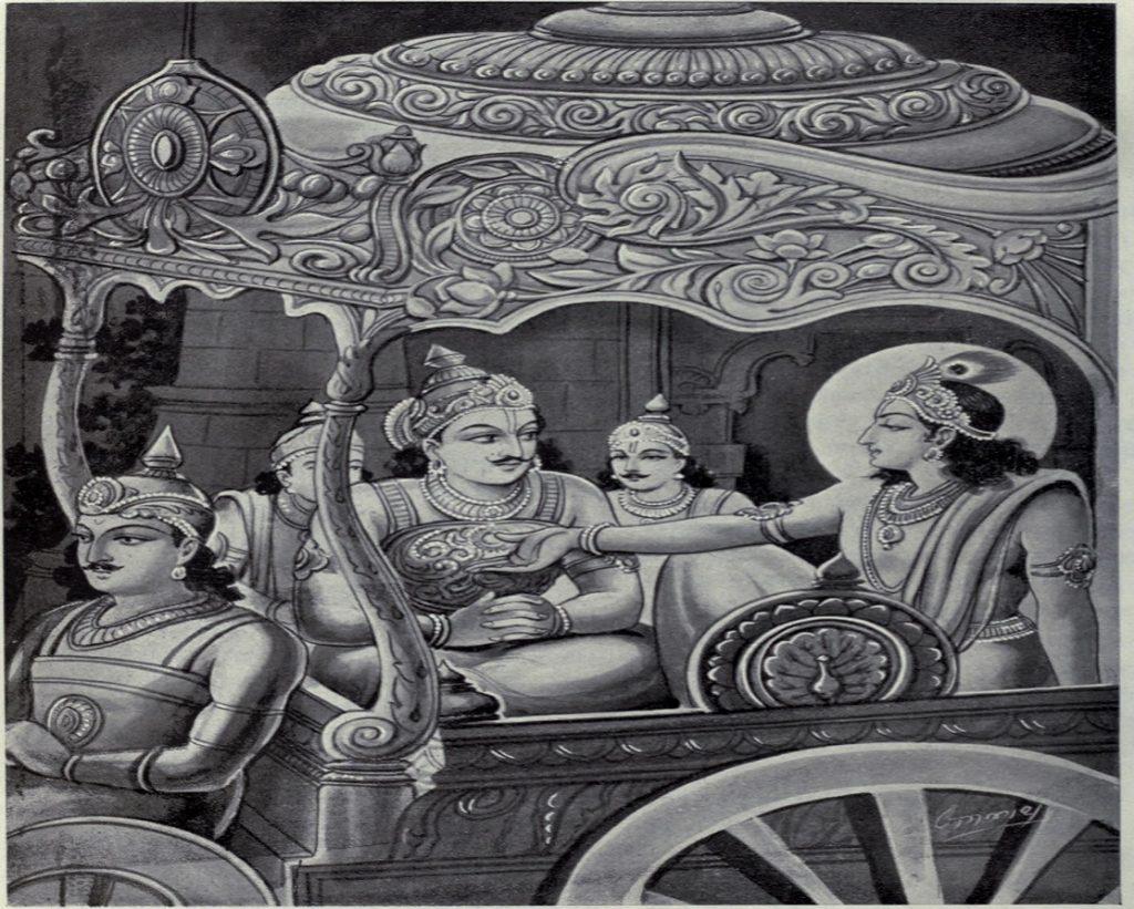 कर्णवध के समाचार से प्रसन्न हुए युधिष्ठिर ने कृष्ण और अर्जुन की जमकर प्रशंसा की