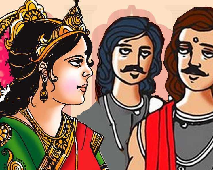 द्रौपदी के साथ पाँचों पाण्डवों के विवाह का निर्णय