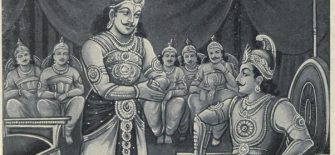 Cunning fellow Duryodhana made a plan to send the Pandavas to Varnavat