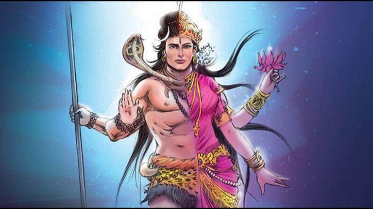 भगवान शिव के अर्धनारीश्वर-अवतार की कथा