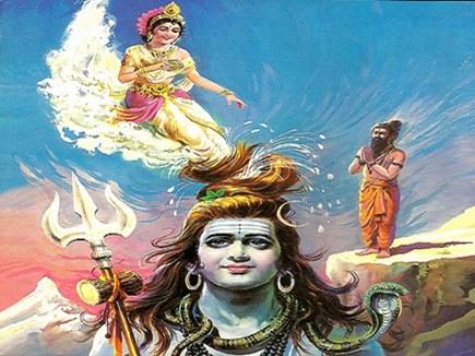 गंगा नदी के अवतरण की कथा