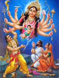 देवी नन्दा (विन्ध्यवासिनी) की लीला-कथा