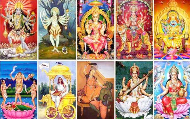 दस महाविद्या के प्राकट्य की कथा