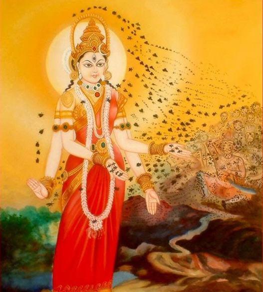 भ्रामरी देवी के अवतार की कथा