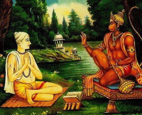 जब तुलसीदास जी ने पेड़ के प्रेत को प्रसन्न कर लिया और हनुमान जी के दर्शन किये
