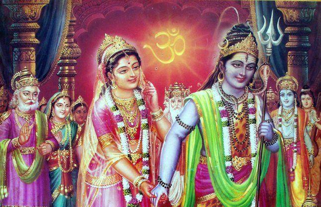 शिव पार्वती विवाह